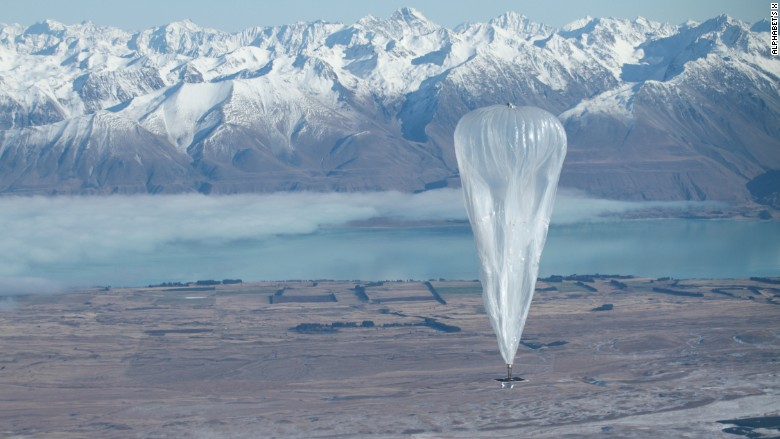 Project Loon partners with AT&T in Puerto Rico