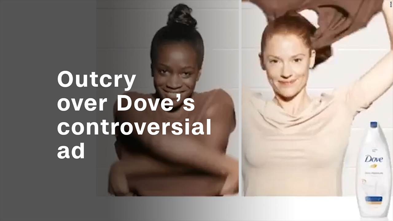 Outcry Over Dove S Controversial Ad Video Business News