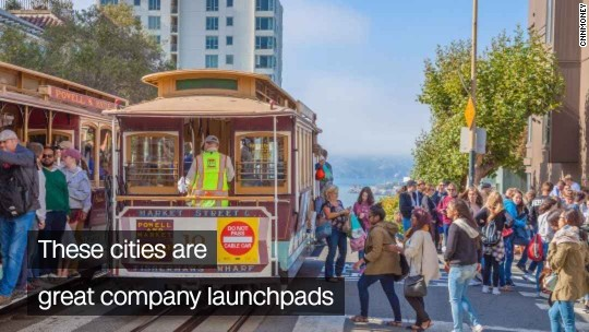 Why these cities attract entrepreneurs