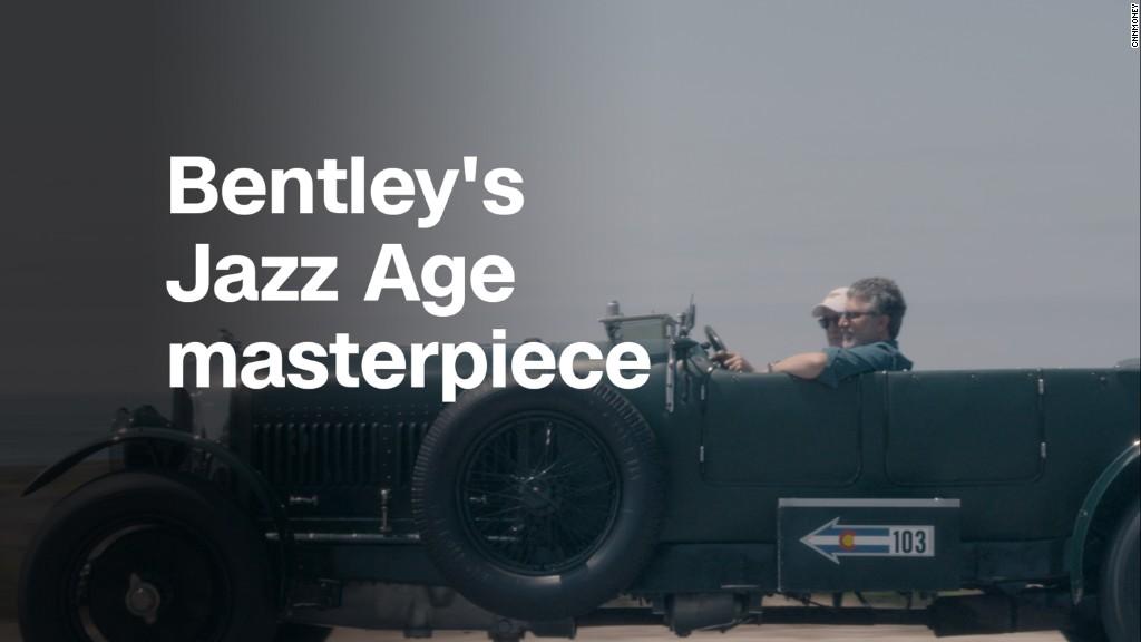 Bentley 'Le Mans Sport ' was a Jazz Age speed demon