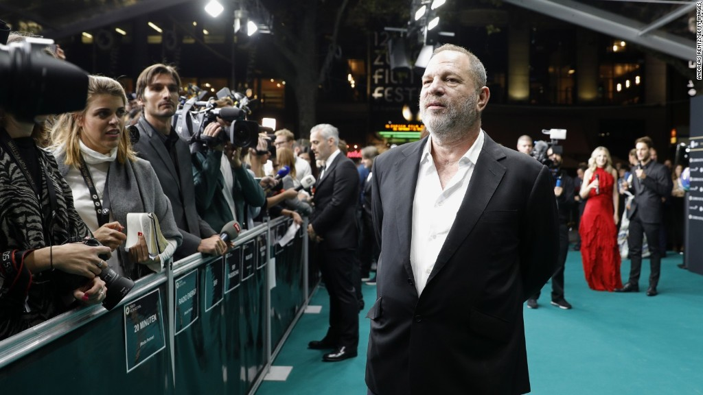 Weinstein empire unravels amid scandal