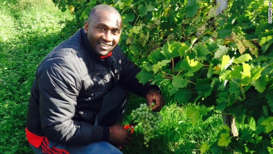 This football star scored a new career making Cognac