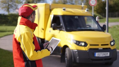 DHL to test self-driving delivery trucks in 2018