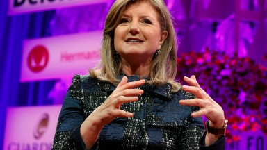 Arianna Huffington advocates for women to repeat outfits