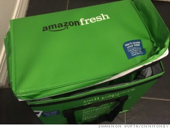 Amazon Fresh bag