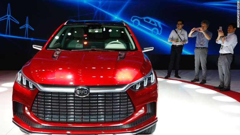 Shares In Warren Buffett Backed Electric Car Maker Byd Are