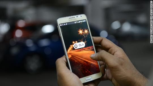 Uber's Indian rival Ola scores $1.1 billion investment