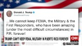 Trump tweets: 'We cannot keep FEMA...in P.R. forever!'