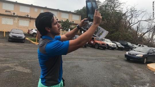 Doctors in Puerto Rico adjust to 'post-apocalyptic' life