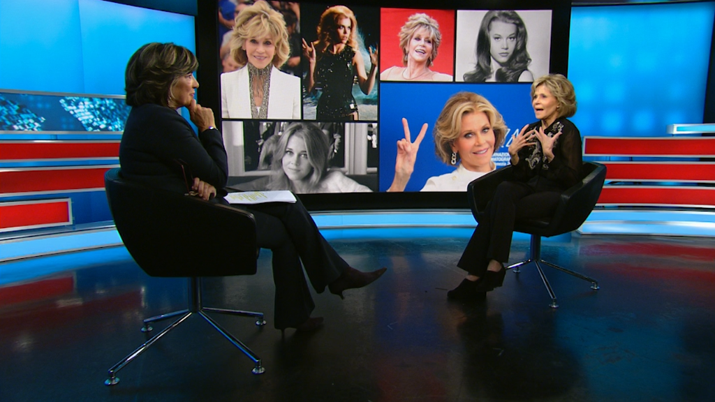 Jane Fonda Therapy is key to overcoming past sexual abuse
