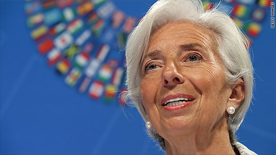 Quest: It's the IMF vs. Donald Trump