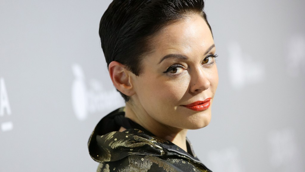Rose McGowan blocked on Twitter