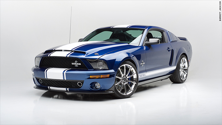 barrett jackson 2007 ford shelby super snake