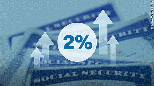 Social Security checks to get 2% bigger next year