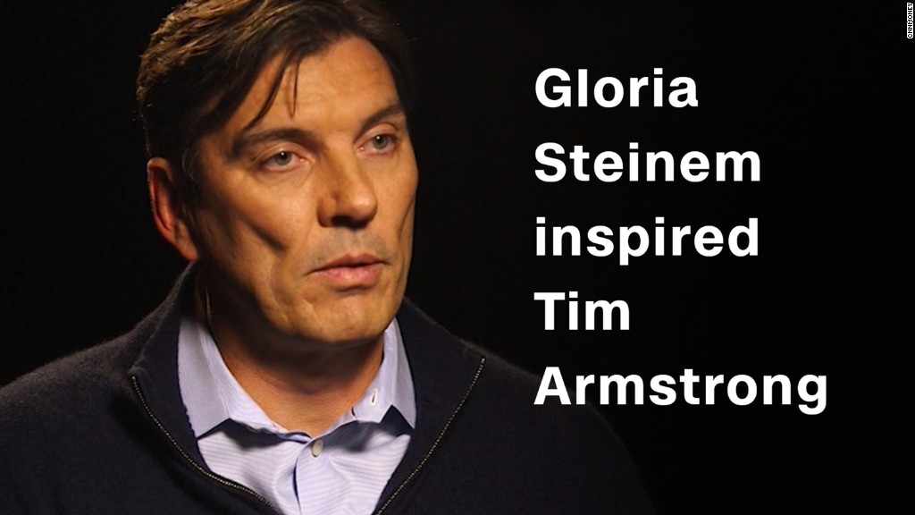 How Gloria Steinem inspired Oath CEO Tim Armstrong