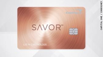 savor card