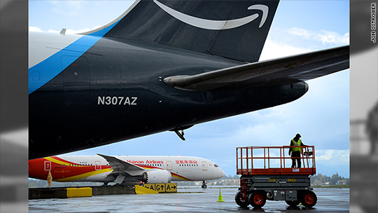 How Amazon filled up Seattle's airport and what it means for HQ2