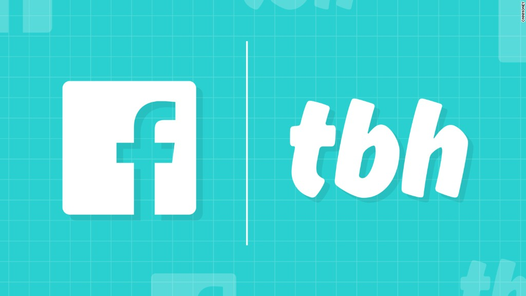 Facebook acquires app aimed at teens, 'tbh'