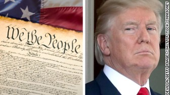 donald trump constitution