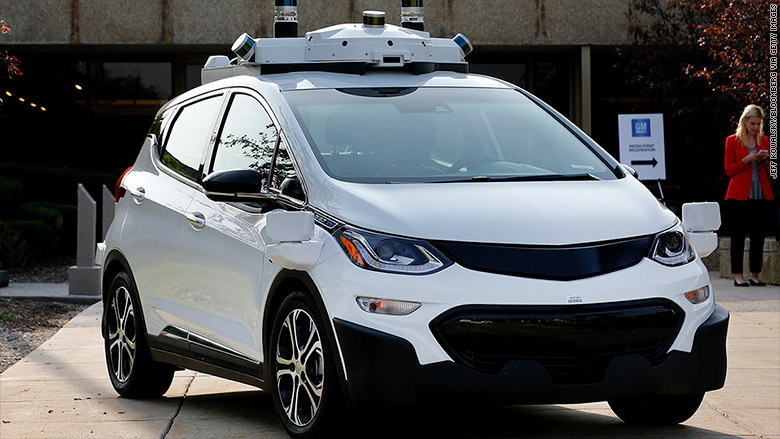 Gm Will Test Self Driving Cars In New York City Oct 17 2017