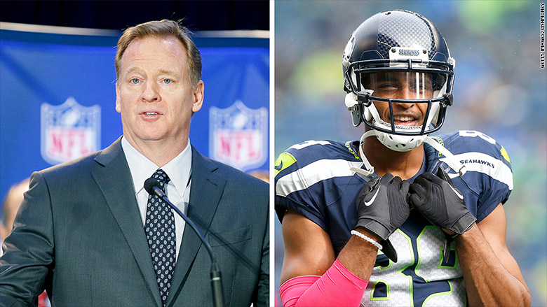 Goodell: NFL players aren't trying to be 'disrespectful to the flag'