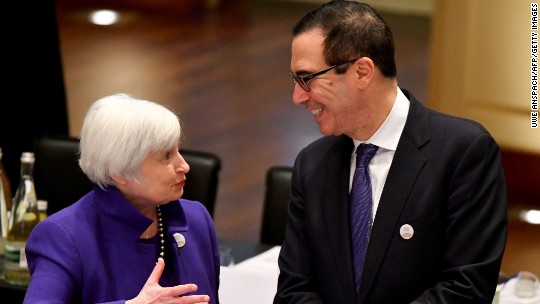 Trump's perfect pick for Fed chair: Janet Yellen