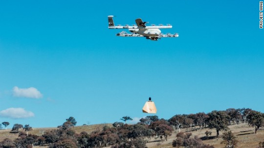 Drones will drop burritos into people's yards