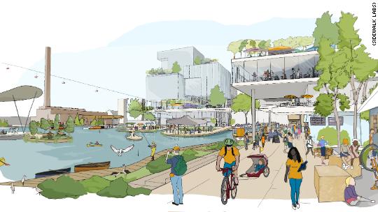 Google to build a futuristic neighborhood in Toronto