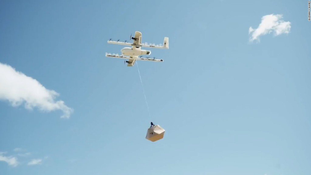 Alphabet will use drones to deliver burritos in Australia