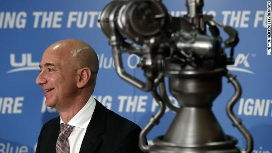 Jeff Bezos's Blue Origin test fires game-changing rocket engine