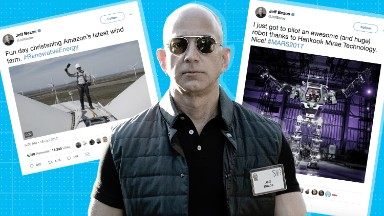 Jeff Bezos is having a moment, and he's not afraid to let you know it