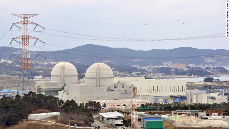 south korea nuclear energy reactor