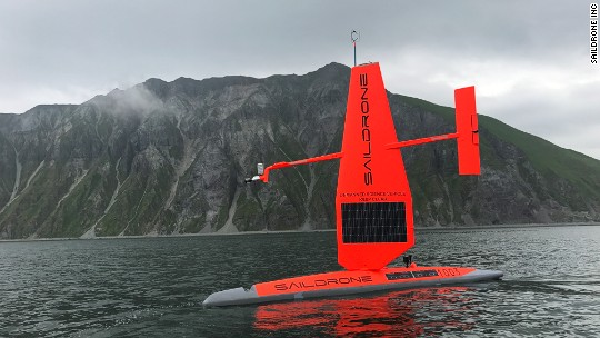 The self-sailing boats surveying our oceans for clues about climate change
