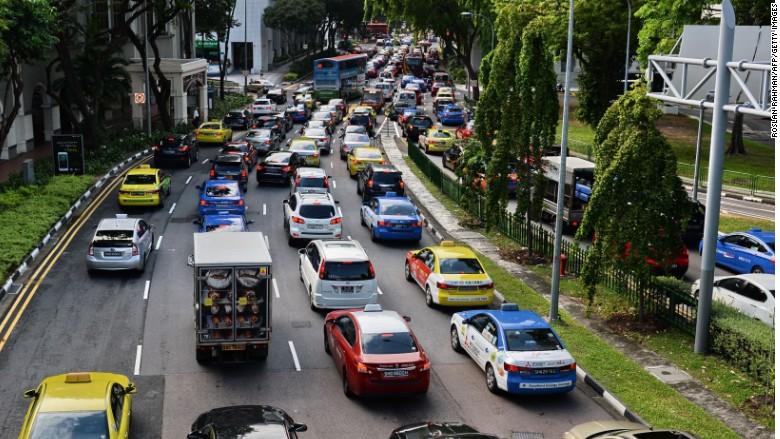 Singapore traffic