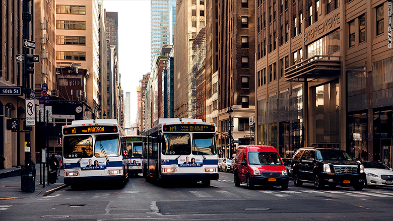 city bus new york