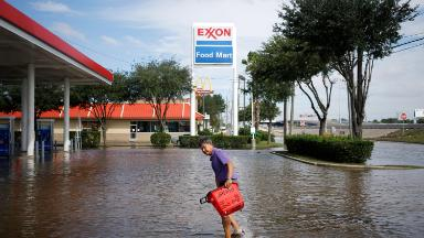 Exxon got hammered by hurricanes, but profits still soared 50%