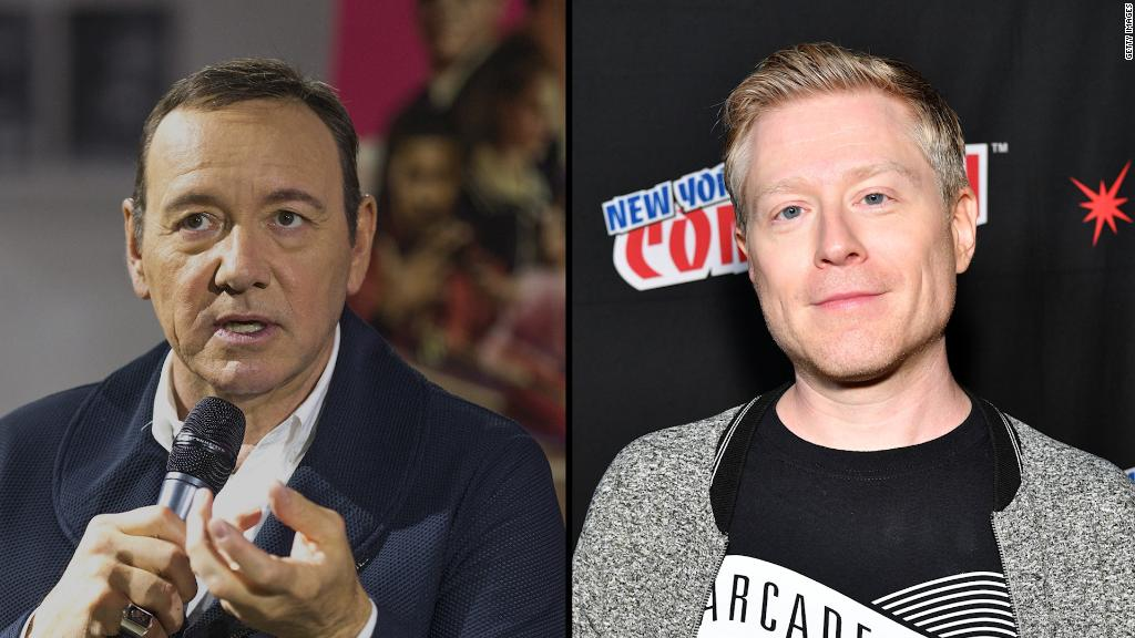 Spacey apologizes for alleged sex assault against a minor