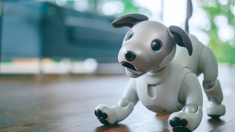 Sony robotic robot dog aibo