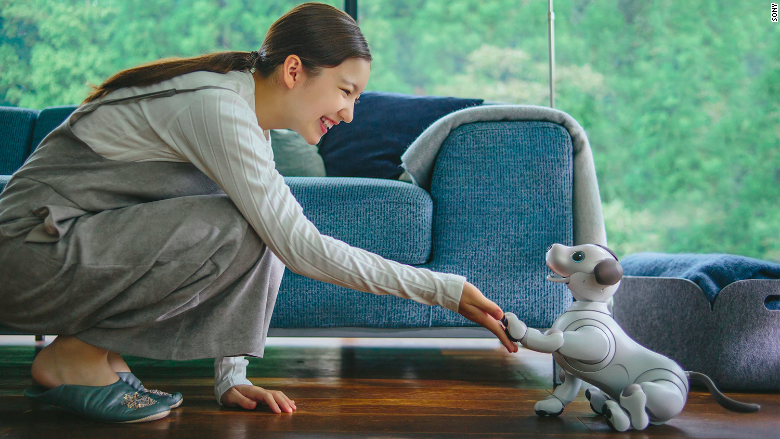 Sony robotic robot dog aibo 2