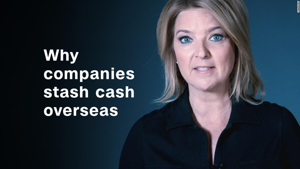 Why companies stash cash overseas