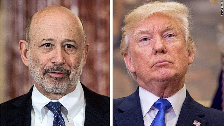 Lloyd Blankfein: Economy is 'higher' under Trump than if Clinton won
