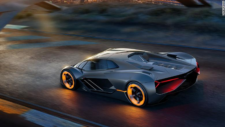 lamborghini and mit team up on electric supercar without