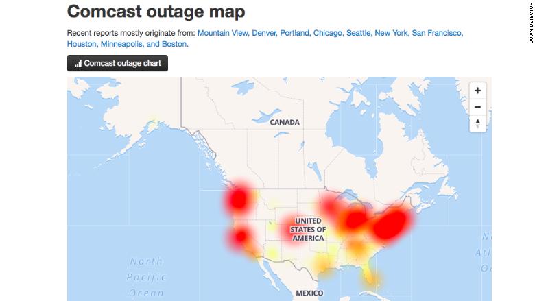 comcast outage