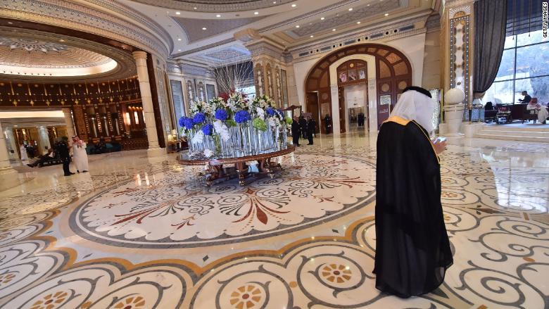 Ritz Riyadh interior