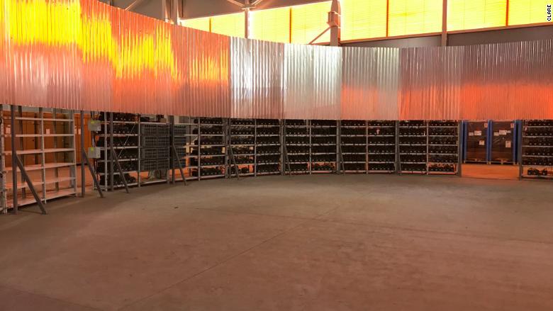 Bitcoin mining computers