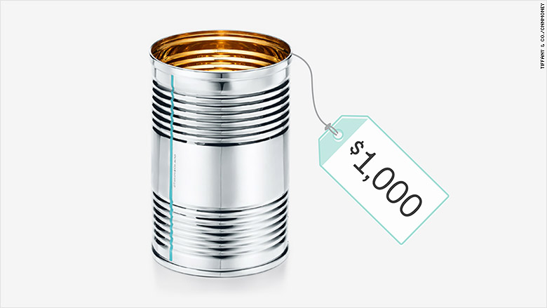 tiffany tin can