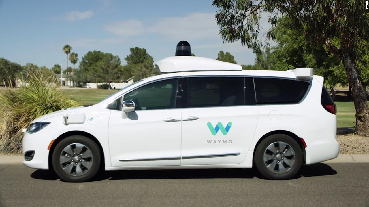 waymo tests self driving cars without safety drivers video technology. Black Bedroom Furniture Sets. Home Design Ideas