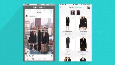 New app backed by Kim K. wants to be fashion's Shazam