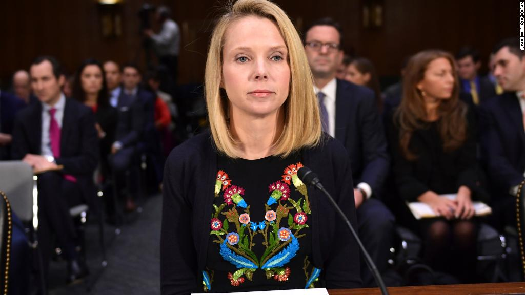 Marissa Mayer testifies over Yahoo data breaches
