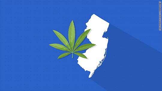 New Jersey Could Become The Next Legal Pot State
